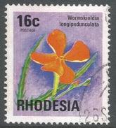 Rhodesia. 1974 Antelopes, Wild Flowers & Butterflies. 16c Used SG 502 - Rhodesia (1964-1980)