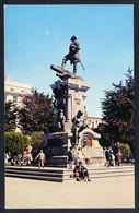 Chile. Punta Arenas. *Plaza Muñoz Gamero. Monumento A Hernando De Magallanes* Escrita. - Chile