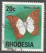 Rhodesia. 1974 Antelopes, Wild Flowers & Butterflies. 20c Used SG 503 - Rhodesia (1964-1980)