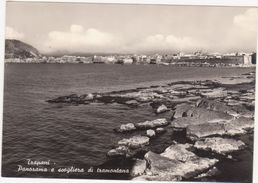 453 TRAPANI PANORAMA E SCOGLIERA DI TRAMONTANA 1960 CIRCA - Trapani
