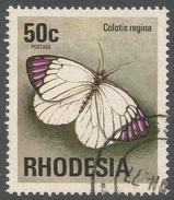 Rhodesia. 1974 Antelopes, Wild Flowers & Butterflies. 50c Used SG 506 - Rhodesia (1964-1980)
