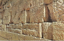 OLD CITY OF JERUSALEM  -  THE WAILING WALL.  (scan Verso). - Jordanie