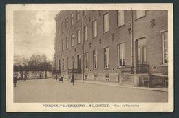 Pensionnat Des Ursulines à Melsbroeck. Cour De Récréation. Voir Dos. 2 Scans. - Steenokkerzeel