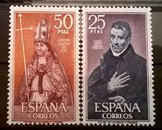 FRANCOBOLLI STAMPS SPAGNA ESPANA 1970 MNH** SERIE COMPLETA PERSONALITA' - Nuovi