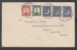 Pakistan  1953  MAURIPUR  AIRFIELD  5v  Cover To Austria  #  04895  D - Pakistan