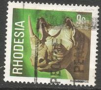 Rhodesia. 1978 Gemstones, Wild Animals And Waterfalls. 9c Used SG 560 - Rhodesia (1964-1980)