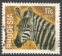 Rhodesia. 1978 Gemstones, Wild Animals And Waterfalls. 17c Used SG 564 - Rhodesia (1964-1980)