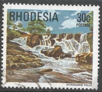 Rhodesia. 1978 Gemstones, Wild Animals And Waterfalls. 30c Used SG 567 - Rhodesia (1964-1980)