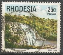 Rhodesia. 1978 Gemstones, Wild Animals And Waterfalls. 25c Used SG 566 - Rhodesia (1964-1980)