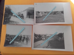 1914 Belfort 1 Er Régiment D Infanterie En Manoeuvres 4 Cartes Photos 1914-1918 Ww1 1wk - War, Military