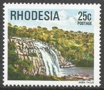 Rhodesia. 1978 Gemstones, Wild Animals And Waterfalls. 25c MH SG 566 - Rhodesia (1964-1980)
