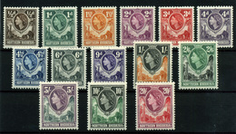 1804-  Rhodesia Nº 59/72 - Sellos