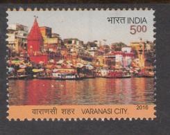 India  2016   Varanasi City  River Ganges    #   02437      SD  Inde Indien - India