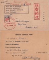 United States  1945  American P.O.W. In Japan  Interned At Taiwan POW Camp REPRINTED Postcard #  04222  D - Brieven En Documenten