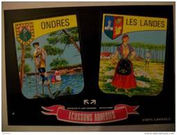 Blason Adhésif ONDRES  Les  Landes (40) - Sonstige Gemeinden
