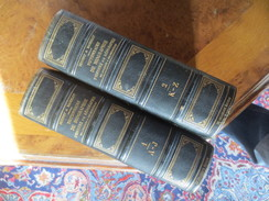 DEZOBRY - BACHELET  - 1880- DICTIONNAIRE DE BIOGRAPHIE ET D'HISTOIRE- EN 2 VOLUMES / TOMES 1 + 2. - Dictionaries