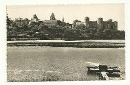 MAINE Et LOIRE - Dépt N° 49 = POUANCE 1950 = CPSM Edition CHRETIEN = Vieux Chateau Feodal + Embarcadère - France