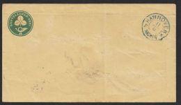 GS, Mi-Nr. S4 5II, Bedarfsgelaufener Umschlag Rücks. Ankunft, Bügig Und Anschrift Entfernt, Trotzdem Seltenes Stück, O - Hannover