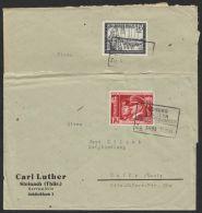 "Mi-Nr. 763, 776, ""Coburg- Lauscha"", Dt. Bahnpost, 1941, 2Briefe Je Mit EF - Briefe U. Dokumente"