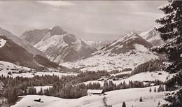 AUTRICHE 1959 CARTE POSTALE DU KLEINWALSERTAL   MITTELBERG-RIEZLERN-HIRSCHEGG - Kleinwalsertal