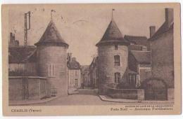 (89) 025, Chablis, Harry, Porte De Noël, Voyagée En 1946, Bon état - Chablis