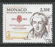 Monaco, Yv 2930 Année 2014, Oblitéré, Voir Scan - Monaco