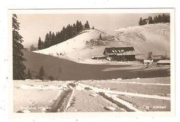 CPA Autriche BREGENZ Pfänder  Chalet Skieurs  Vue Peu Commune - Bregenz