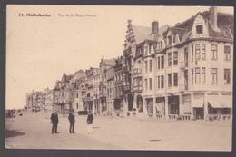 CPA.Middelkerke. Vue De La Dique Ouest - Middelkerke