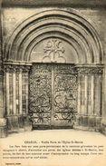 """- CHABLIS - Porte """"aux Fers à Cheval"""" De L'Eglise St Martin -16570- - Chablis"""