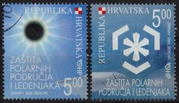 Croatia 2009 Preservation Of Polar Regions And Glaciers - Used - Solar Eclipse - Preservare Le Regioni Polari E Ghiacciai