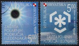 Croatia 2009 Preservation Of Polar Regions And Glaciers - Used - Solar Eclipse - Preserve The Polar Regions And Glaciers