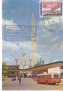 Carte Max 1047 Exposition 1958 - Maximumkarten (MC)