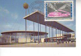 Carte Max 1052 Exposition 1958 - Maximumkarten (MC)