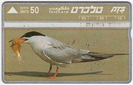 ISRAEL B-199 Hologram Bezeq - Animal, Bird - 422B - Used - Israel