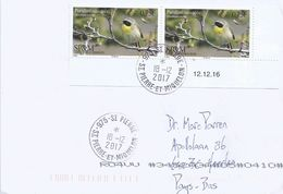 St.Pierre & Miquelon 2017 SPM Common Yellowthroat Bird Paruline Masquee Geothlypis Trichas Cover - St.Pierre & Miquelon