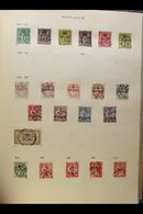 """""""FOREIGN"""" COUNTRIES STAMP COLLECTION MINT & USED - All Periods Up To 1960s In Three Springback Albums And On A Thick Pil - Unclassified"""