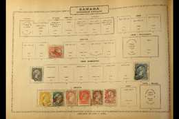 THE AMERICAS - OLD TIME COLLECTION 1850s-1939. A Most Useful, Mainly Used Collection Presented On Ancient Printed Pages  - Unclassified