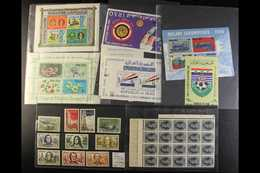 WORLD STAMPS AND COVERS COLLECTION An All Periods Mint And Used Assembly In Two Large Albums, In Several Smaller Volumes - Unclassified