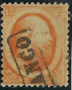 Pays Bas N° 6 Oblitéré Signé - Period 1852-1890 (Willem III)