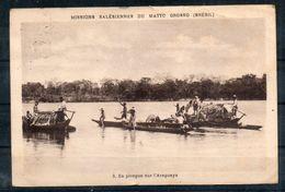 Bresil. En Pirogue Sur L'araguaya. Abimée En Haut Et En Bas - Campo Grande