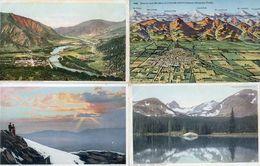 Colorado - Denvers - Mountain Peaks  Etc....- Lot De 10 Cartes - Denver