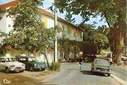 < Automobile Auto Voiture Car >> Citroen DS19, Ami6, Peugeot 404, Capvern Les Bains, Hôtel Beau-Site - Voitures De Tourisme