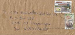 Nigeria 2017 Amaru Supreme Court Stamps On Stamps N50 WWF Gorilla N150 Hologram Cover - Nigeria (1961-...)