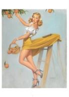 Pin Up De Robert Skemp : Picking Peaches Circa 1955 (2 Scans) - Pin-Ups