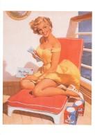 Pin Up De Haddon Sundblom : See Worthy 1958 (2 Scans) - Pin-Ups