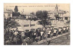 Marseille. Exposition Coloniale. Section De La Cochinchine. Station Des Pousses  (2223) - Colonial Exhibitions 1906 - 1922