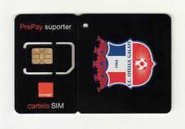 ROMANIA Orange (Football Club 7) GSM SIM MINT - Romania