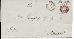 1866 - SACHSEN - LETTRE De GROSSENHAIN - Saxony