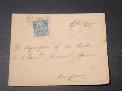BRÉSIL - Enveloppe Pour Amparo En 1907 - L 11109 - Cartas