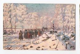 Napoléon Sous La Neige Retraite De Russie Illustré - History
